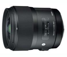 Sigma 35mm F/1.4 ART DG HSM voor Nikon FX, DX