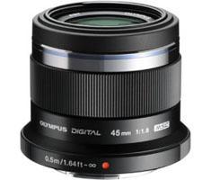 Olympus MFT 45mm F/1.8 zwart M.Zuiko Digital
