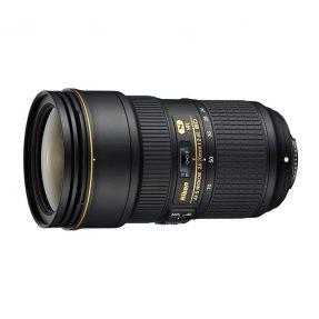 Nikon AF-S 24-70mm VR F/2.8E ED + HB-74 (zonnekap)