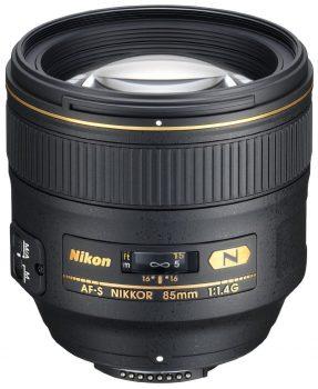 Nikon AF-S 85mm F/1.4G + HB-55 (zonnekap)