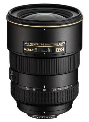 Nikon AF-S 17-55mm F/2.8 G DX iF ED + HB-31 (zonnekap)