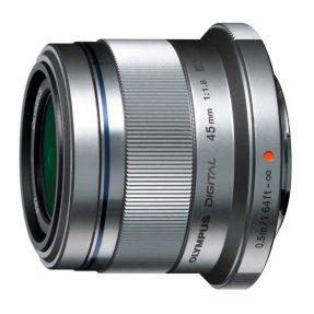 Olympus MFT 45mm F/1.8 zilver M.Zuiko Digital
