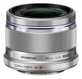 Olympus 25mm MFT F/1.8 zilver M.Zuiko Digital