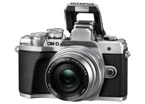 Olympus OMD E-M10 mark III zilver + 14-42mm EZ zilver-4509
