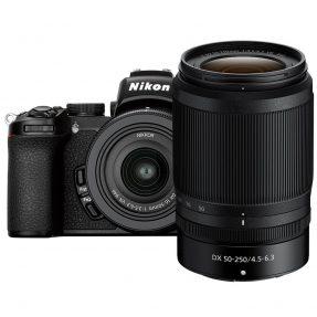 Nikon Z50 body zwart + 16-50mm + 50-250mm dubbelzoomkit