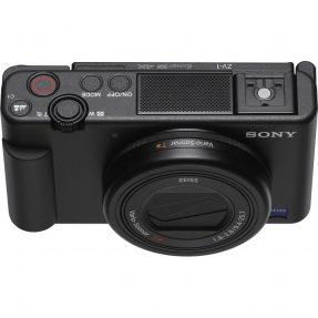 Sony vlog camera ZV1 + GP-VPT2BT bluetooth vlogging grip-6339