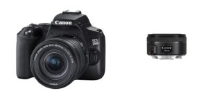 Canon EOS 250D 18-55mm IS STM + 50mm 1.8 STM kit