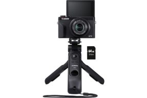 Canon PowerShot G7X Mark III Vlogger Kit Zwart