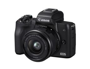 Canon EOS M50 incl. 15-45mm IS STM zwart