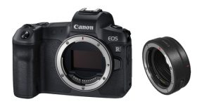 Canon EOS R body + EF-RF Adapter