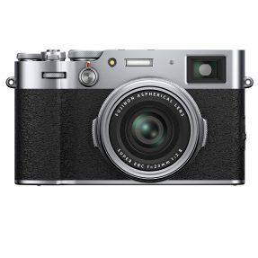 Fujifilm X100V zilver
