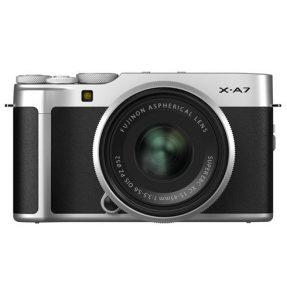 Fujifilm X-A7 zilver + XC 15-45mm zilver