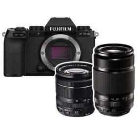 FUJIFILM X-S10 + XF 18-55mm + XF 55-200mm