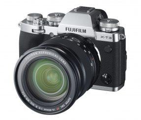 Fujifilm X-T3 XF 16-80mm zilver