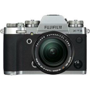 Fujifilm X-T3 XF 18-55mm zilver