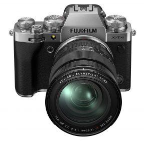 Fujifilm X-T4 zilver met 16-80mm F4