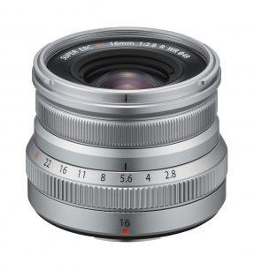 Fujifilm FUJINON XF 16mm F2.8 R WR zilver