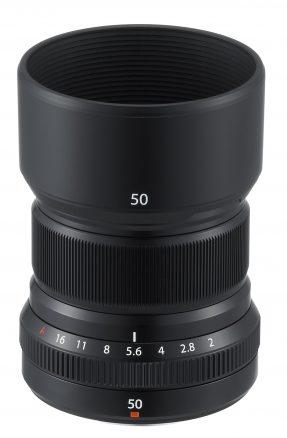 Fujifilm FUJINON XF 50mm F2 R WR zwart