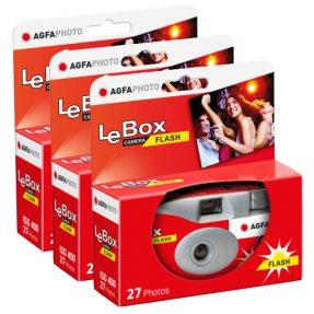 Agfa Lebox Flash ISO 400 27 foto's 3x
