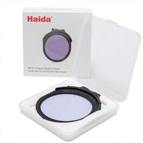 Haida M10 Clear Night Drop-In Filter Nano Coating