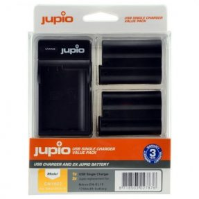 Jupio Nikon EN-EL15 Value Pack