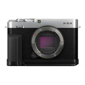 Fujifilm X-E4 + accessoire-kit zilver PRE ORDER