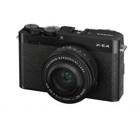Fujifilm X-E4 + 27mm F2.8 R WR zwart