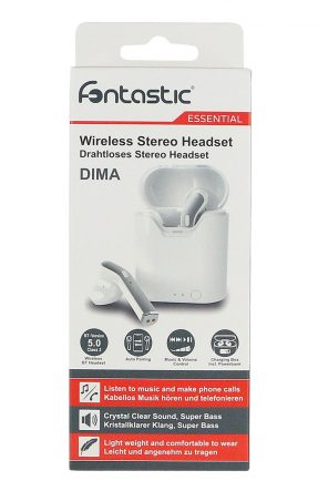 Fontastic Dima wit True Wireless Headset Bluetooth