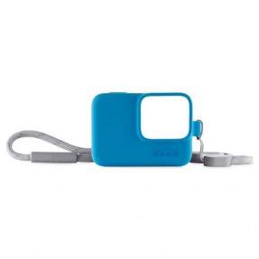 GoPro Sleeve + Lanyard blauw
