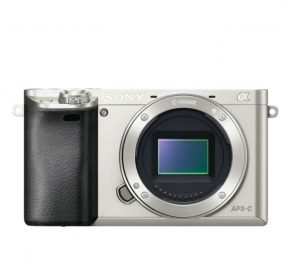 Sony A6000 Body zilver