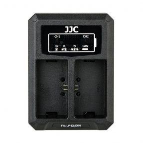 JJC DCH-LPE6 USB Dual Battery Charger (voor Canon LP-E6 en LP-E6N accu)