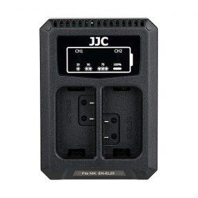 JJC DCH-ENEL25 USB Dual Battery Charger (voor Nikon EN-EL25 accu)