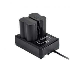 JJC DCH-NPW235 USB Dual Battery Charger (voor Fujifilm NP-W235 accu)