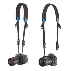 Miggö Two way Speed Strap voor DSLR of systeemcamera – Blauw / Zwart