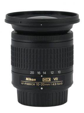 Nikkor AF-P DX 10-20mm F/4.5-5.6 G VR