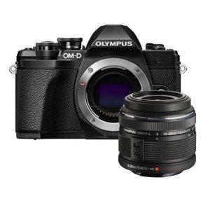 Olympus OM-D E-M10 mark III zwart + 14-42mm II Rzwart