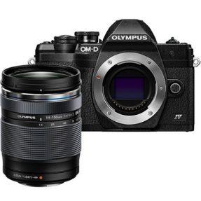 Olympus OM-D E-M10 Mark IVzwart + 14-150mm F4.0-5.6 zwart