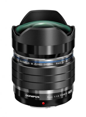 OLYMPUS MFT 8MM F/1.8 ED FISH-EYE M.ZUIKO DIGITAL PRO