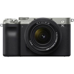 Sony A7C Zilver + 28-60mm