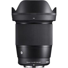 Sigma 16mm F/1.4 DC DN Contemporary Sony E