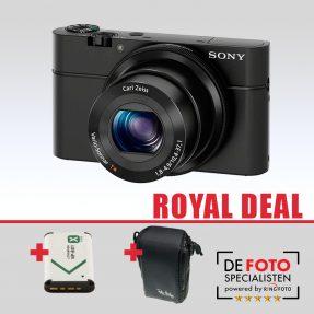 Sony Cybershot DSC-RX100 Royal Deal