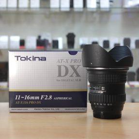 Tokina 11-16mm AT-X F2.8 voor Nikon occasion