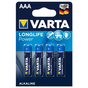 Varta alkaline batterij AAA LR3 4903 Longlife Power