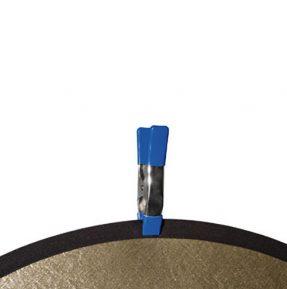 Dörr Veerklemmen Set van 5 stuks Blauw