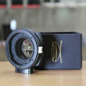 Kipon Baveyes Canon EOS to Sony E-mount 0.7x adapter DEMO