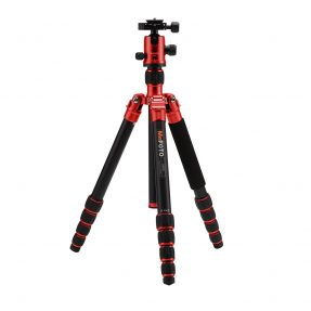 MeFoto Globetrotter rood tripod kit
