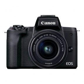 Canon EOS M50 Mark II systeemcamera Zwart + 15-45mm IS STM