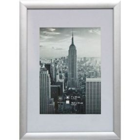 Henzo Manhattan Fotolijst 10×15 zilver