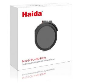 Haida M10 Neutral Density 3-stops & Circular Polarizer Drop-In Filter Nano Coating