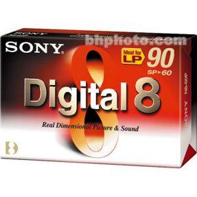 Sony N8-60P2 Digital 8 tape 60Min